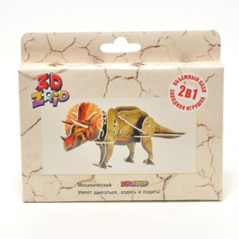 Конструктор 3D ZOID Динозавры